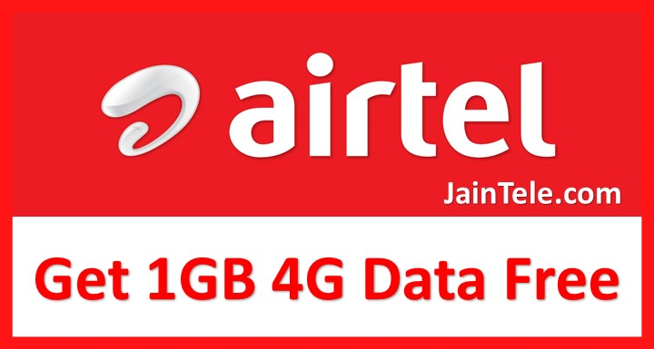 Get 1GB free 4G data on Airtel with a Missed Call